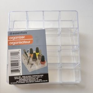 Essentials makeup organizer, *3 for $15 or $7 each